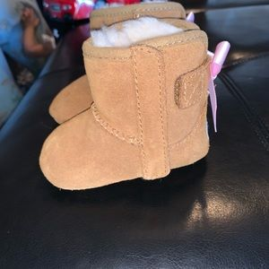 Baby girl UGG boots size 1. Worn briefly once